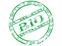 The stamp bio Stock Photos