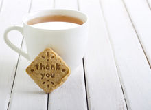 Stamp biscuit Stock Images