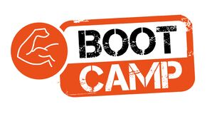 Free Stamp BOOT CAMP Vector Illustration Royalty Free Stock Image - 173318056