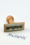 Stamp Bullshit Royalty Free Stock Photos