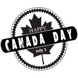 Stamp Canada Day Royalty Free Stock Photos