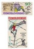 Stamp from Ceskoslovensko Royalty Free Stock Images