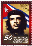 Stamp with Che Guevara Royalty Free Stock Photography