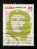 Stamp of Che Guevara Stock Images