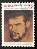 Stamp of Che Guevara Royalty Free Stock Images
