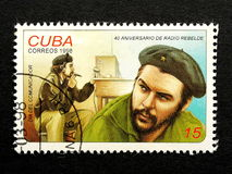 Stamp of Che Guevara Stock Photos