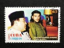 Stamp of Che Guevara Stock Photo