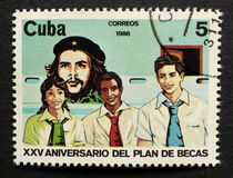 Stamp of Che Guevara Stock Image