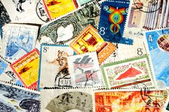 Stamp Stock Photo