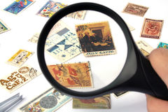 Stamp Collection Royalty Free Stock Image