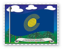 Stamp Commonwealth Stock Images