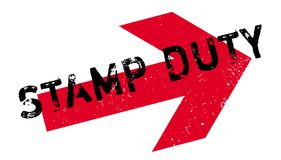 Stamp Duty rubber stamp Stock Photo