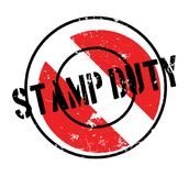 Stamp Duty rubber stamp Royalty Free Stock Image