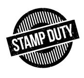 Stamp Duty rubber stamp Royalty Free Stock Photos