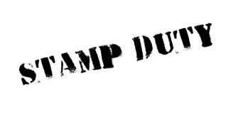 Stamp Duty rubber stamp Stock Photos