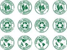 Stamp eco friendly Stock Photo