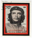 Stamp with Ernesto Che Guevara Stock Images