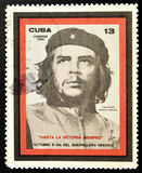 Stamp of Ernesto Che Guevara Stock Photos