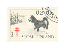 Stamp from Finland Royalty Free Stock Photos