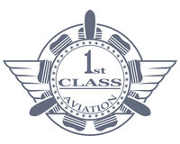 Stamp, first class Stock Image