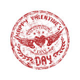 Stamp For Valentine S Day Royalty Free Stock Photography