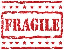 Stamp - Fragile Royalty Free Stock Image