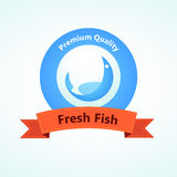 Stamp Fresh Fish Stock Images