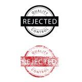 Stamp grunge rejected vintage Stock Images