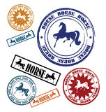 Stamp with a horse 2 Stock Photography