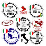 Stamp Italy Stock Photo