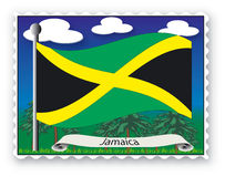 Stamp Jamaica Stock Photos