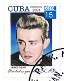 Stamp with James Dean Stock Photos