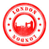 Stamp of London Royalty Free Stock Images