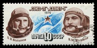 Stamp, macro Royalty Free Stock Photo
