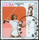 Stamp, macro Royalty Free Stock Photos
