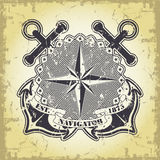 Nautical background Royalty Free Stock Photos