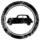Stamp with old car Royalty Free Stock Photo