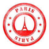 Stamp of Paris Stock Image