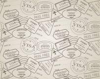 Stamp pattern vector illustration