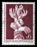 Stamp printed by Austria, shows Bound Hands. Circa 1978 royalty free stock photography