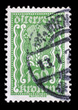 Stamp printed in Austria shows Symbols of Agriculture Stock Photo
