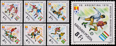 Stamp printed in Hungary shows the Royalty Free Stock Images