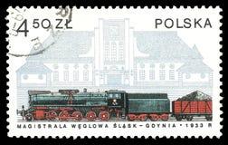 Gdynia Station stock photos