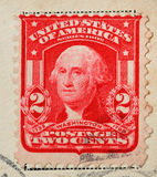A stamp printed in United States. George Washington Series1902 Stock Photography