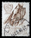 Stamp printed in Yugoslavia dedicated to the 15th anniversary of UNESCO Royalty Free Stock Photography