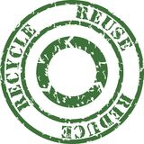 Stamp recycle Stock Photography