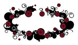 Stamp Romantic. (illustration,  vector,  design,   retro,  abstract Stock Image