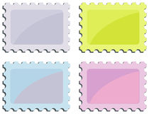 Stamp series Stock Photo