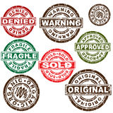 Stamp Set. An image of a variety of stamps Royalty Free Stock Photos