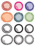 Stamp Set Stock Photography